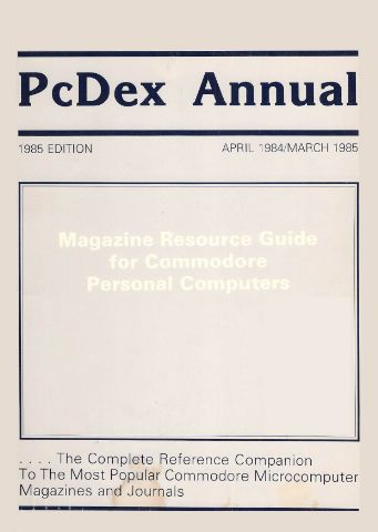 PcDex_Annual_1985_Edition_1984_Apr_to_1985_Mar